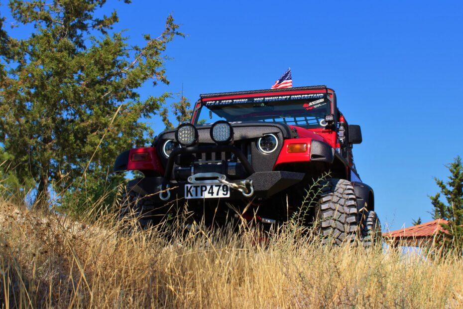 2000 jeep wrangler tj off road