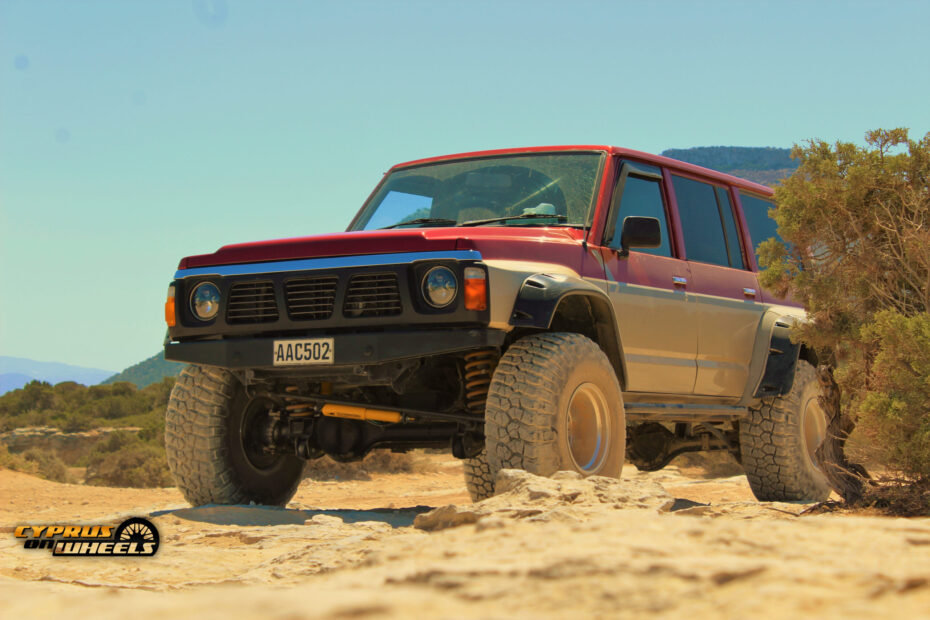 Nissan Patrol build for the trails