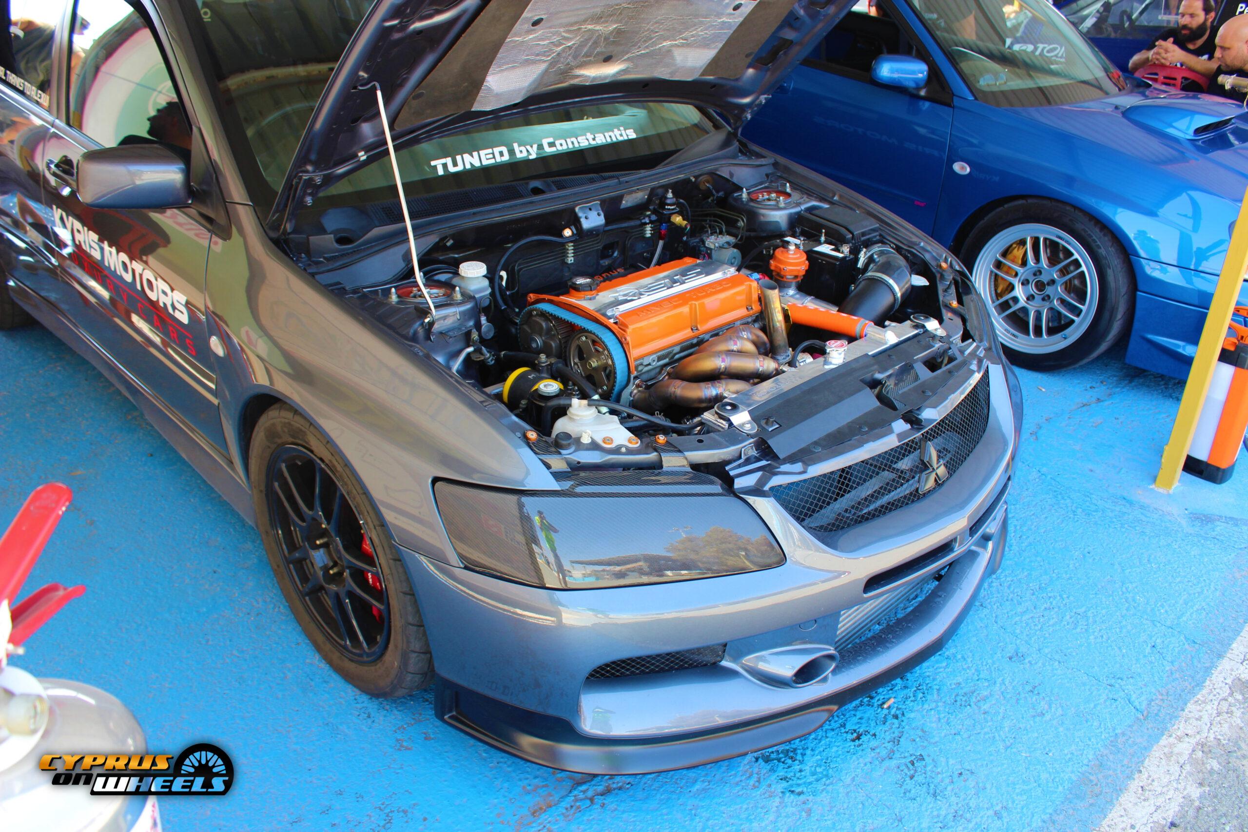 Mitsubishi lancer evolution 8 dragster