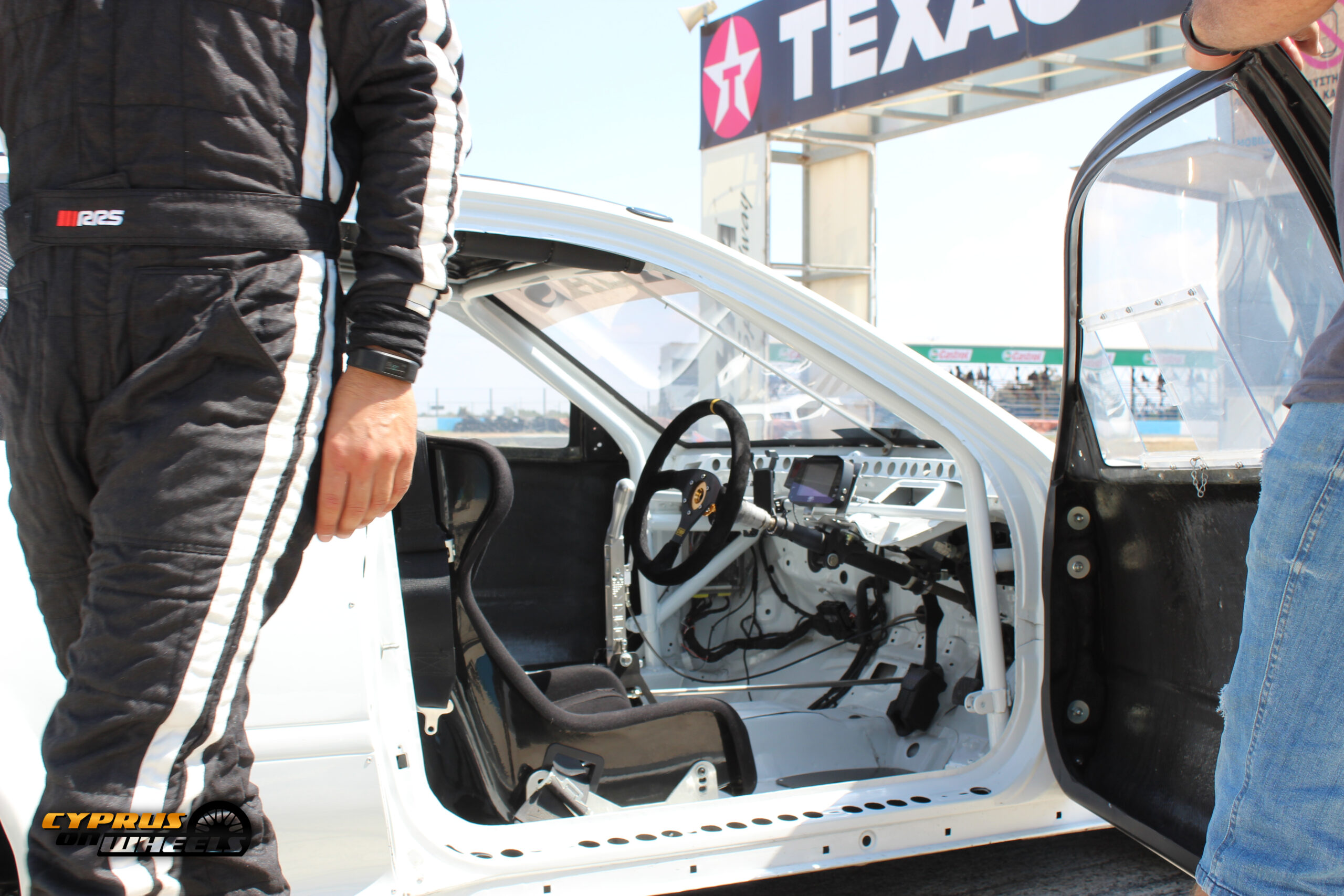 HONDA RACE CAR INTERIOR