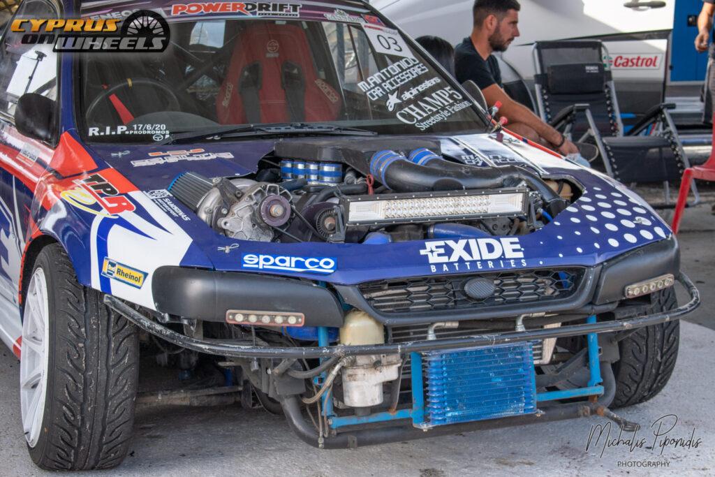 SUBARU IMPREZA V8 ENGINE SWAP SUPERCHARGED