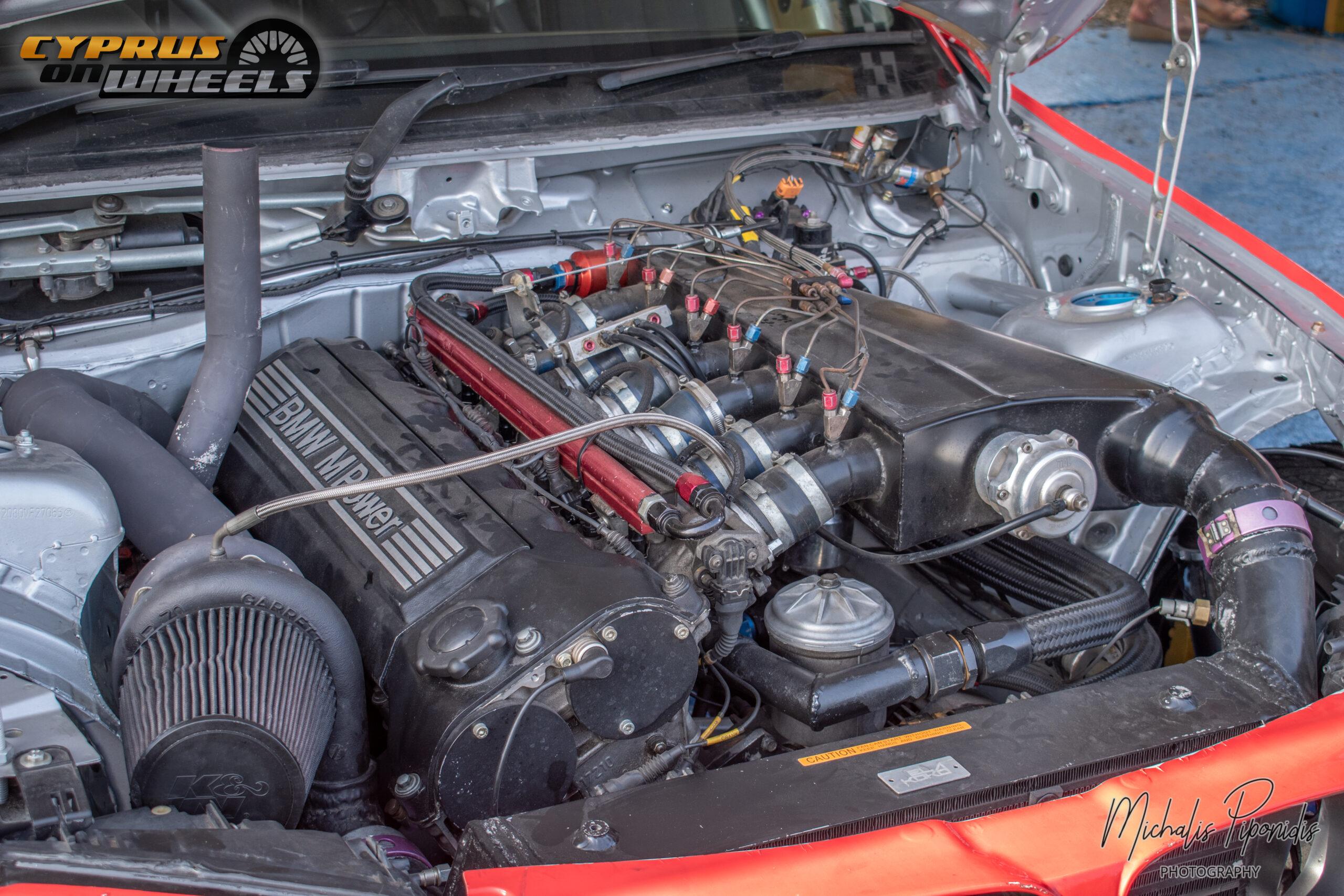 ELA KOKO S54 ENGINE BAY TURBO