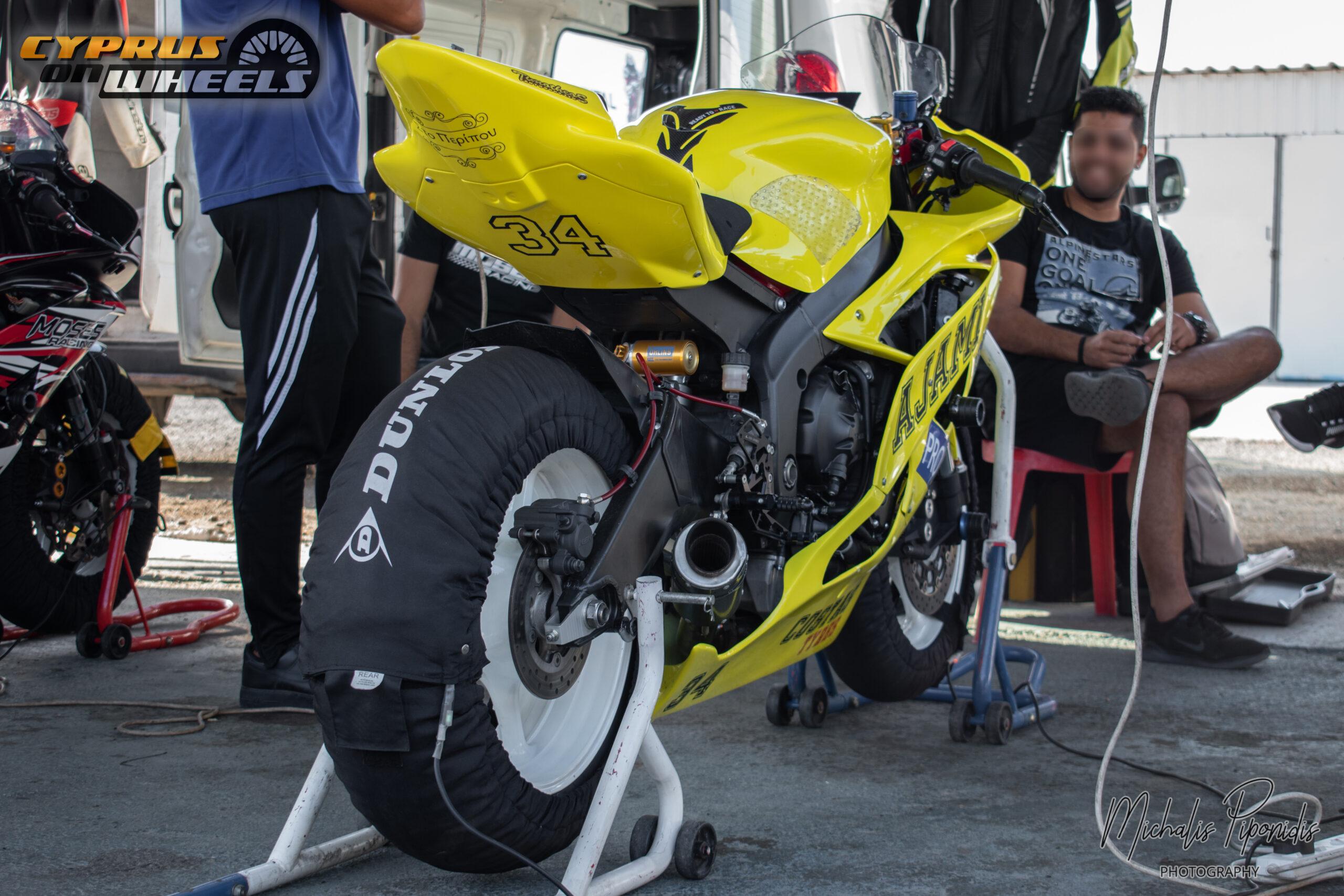 Yellow gsxr racing