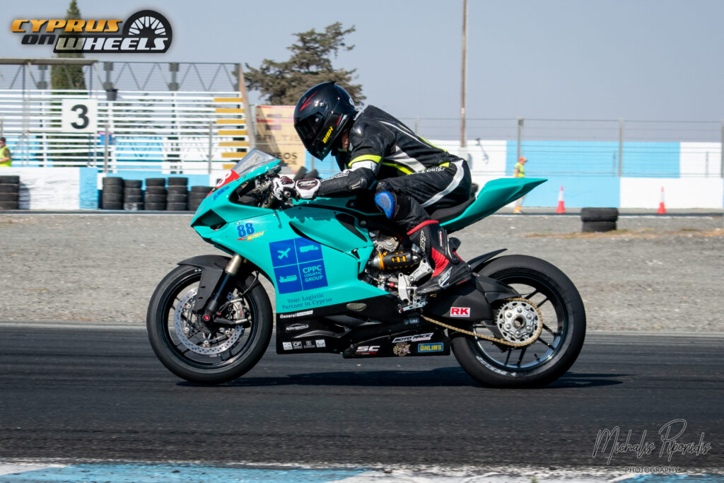 Ducati panigale track day