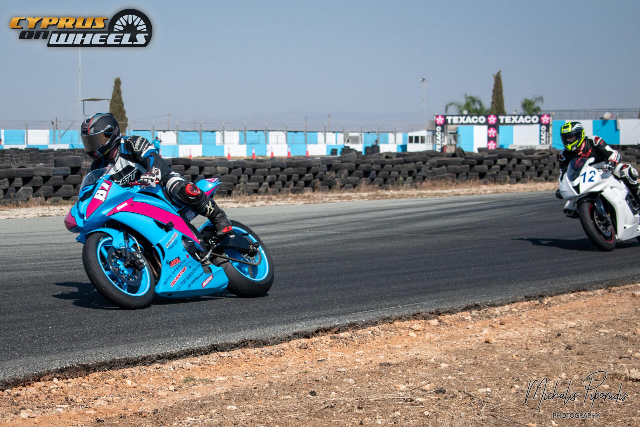 Motorcycles racing