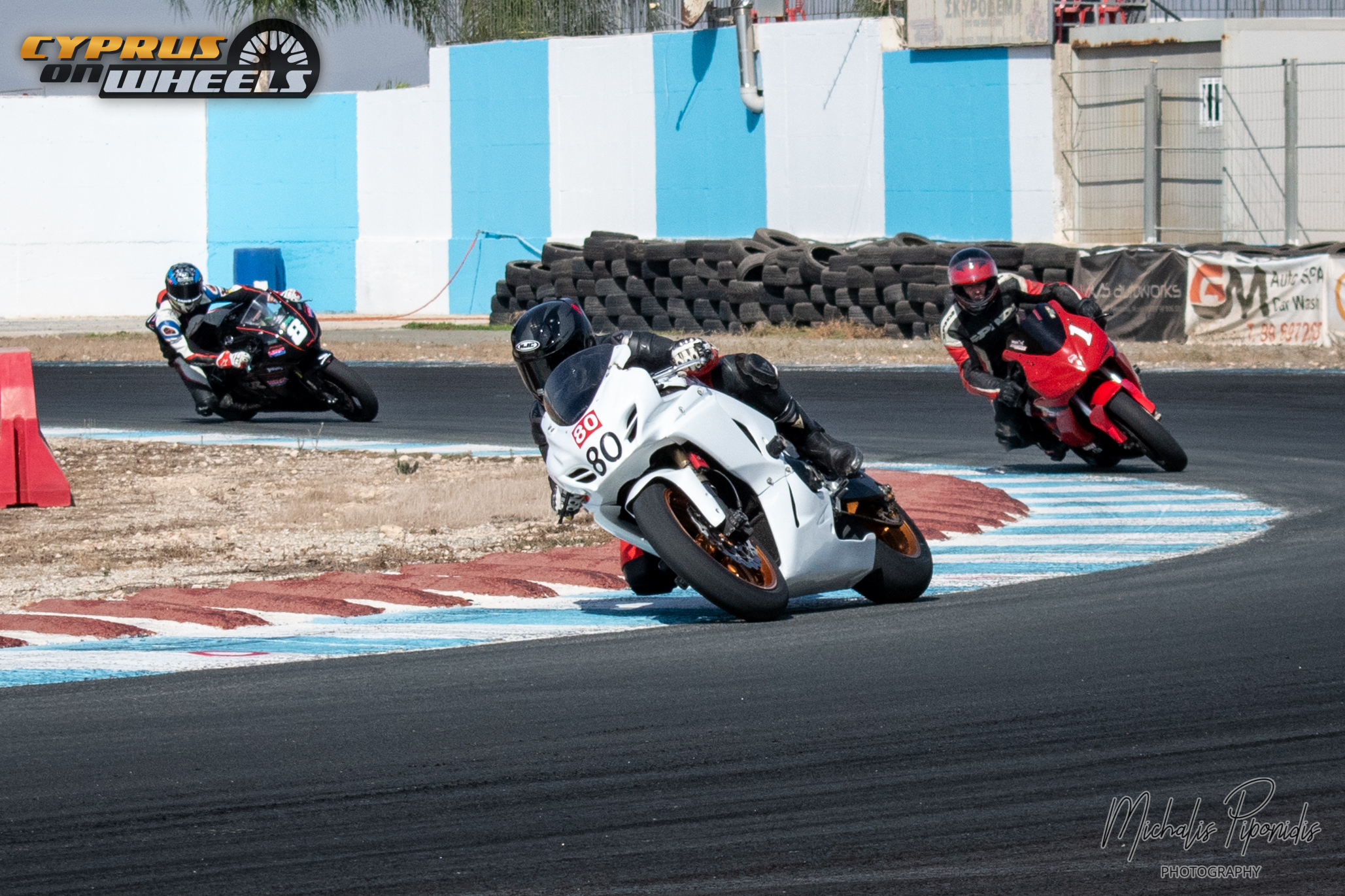 White gsxr racing