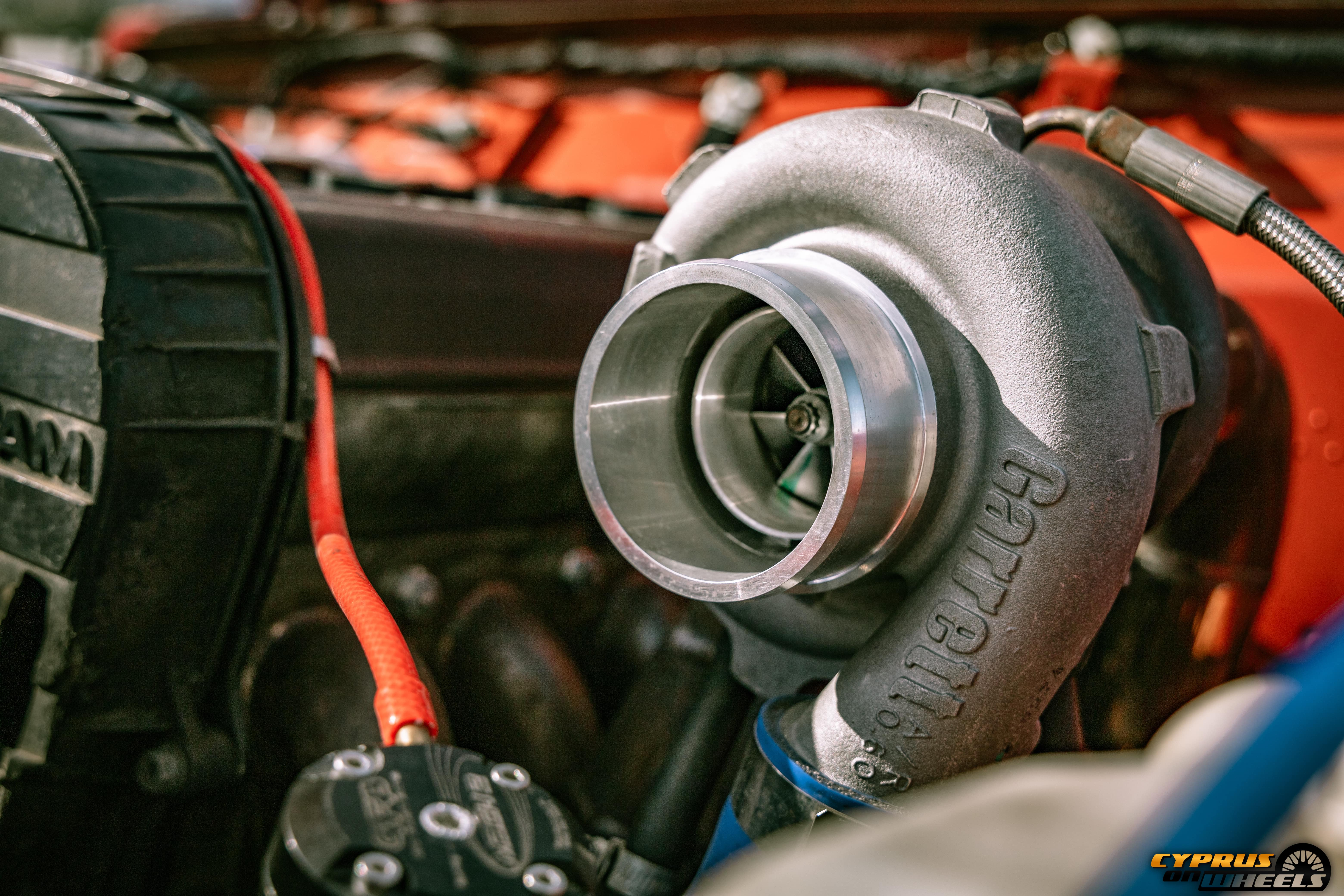 Garrett turbo suzuki engine