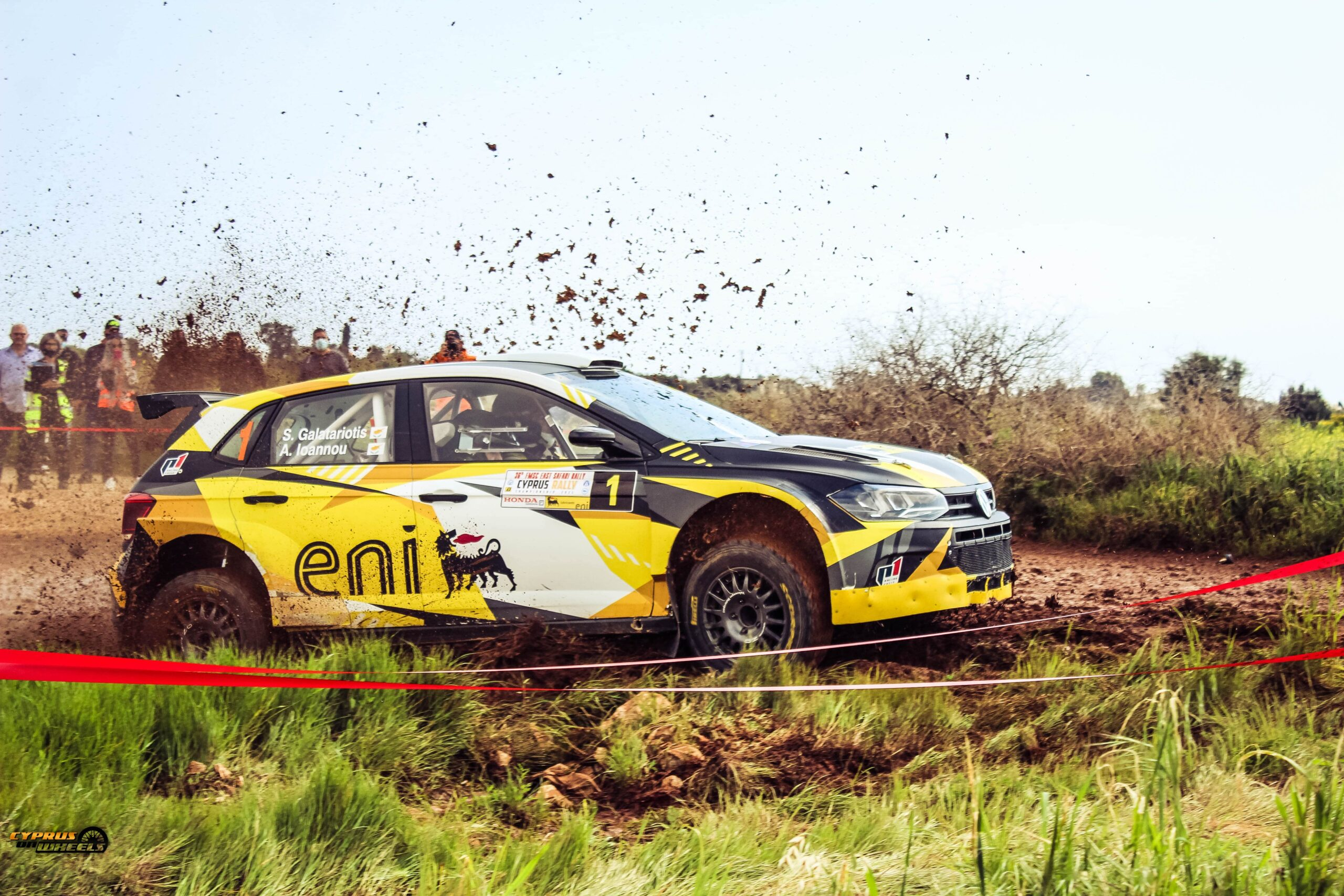 Cyprus rally event coverage