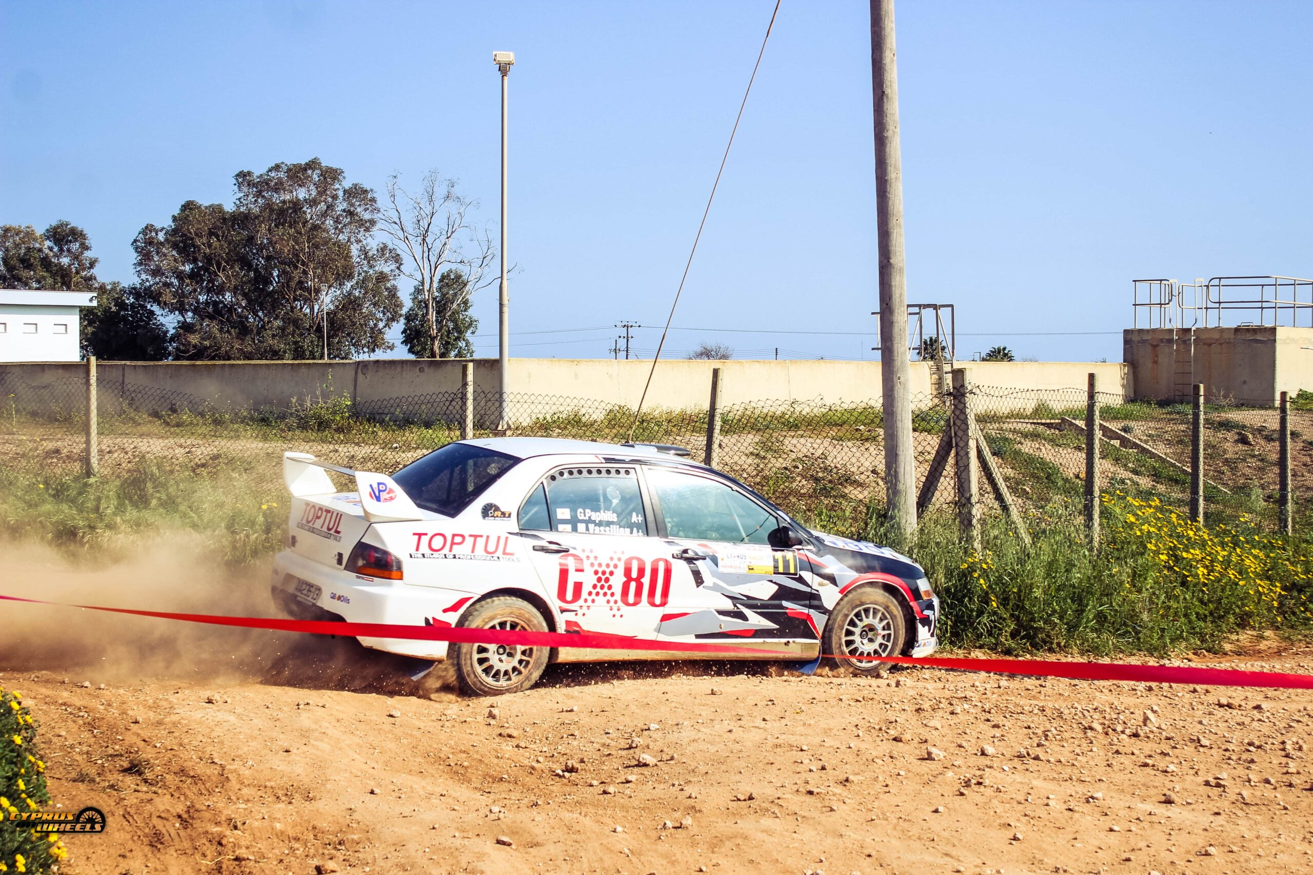 evo 7 rally car