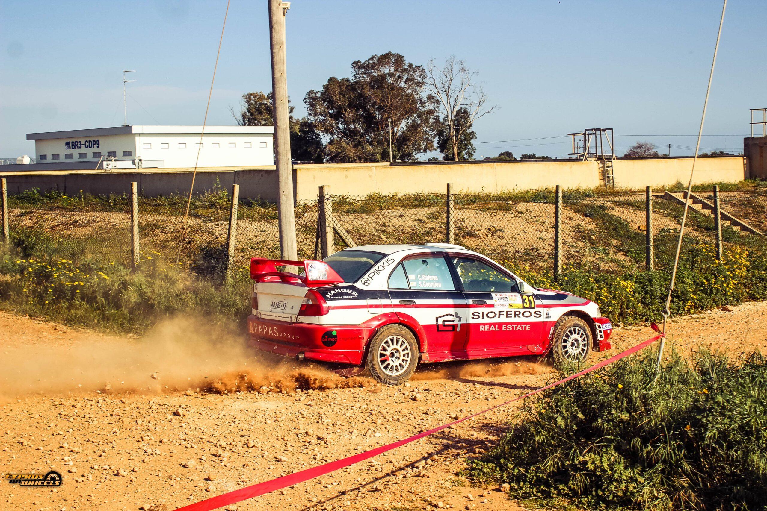Evo 6 tme rally car