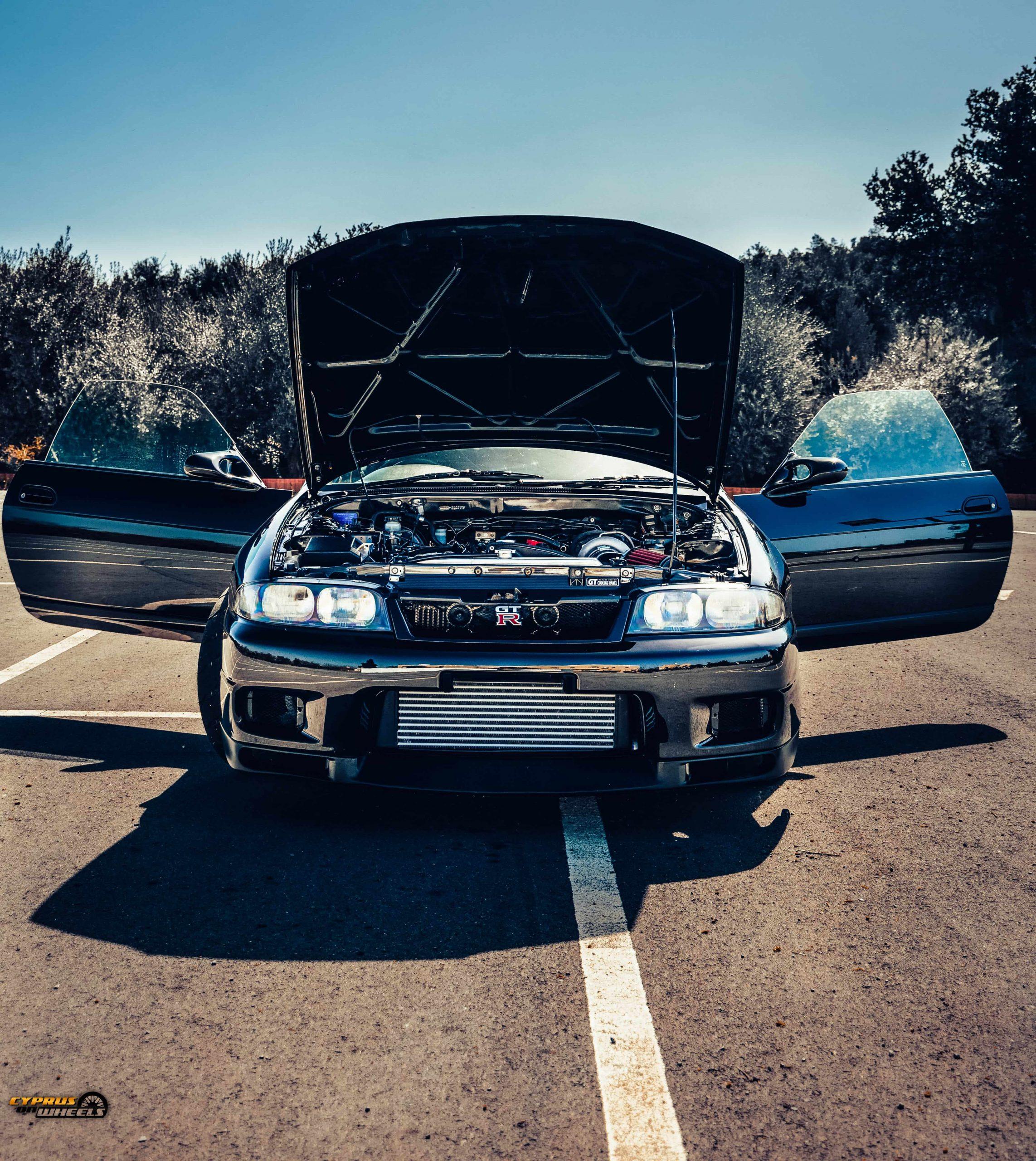 Nissan skyline R33 gtst RB25DET