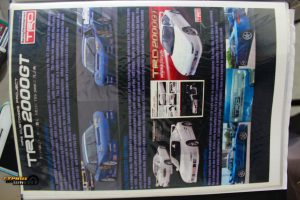 Toyota TRD2000GT magazine
