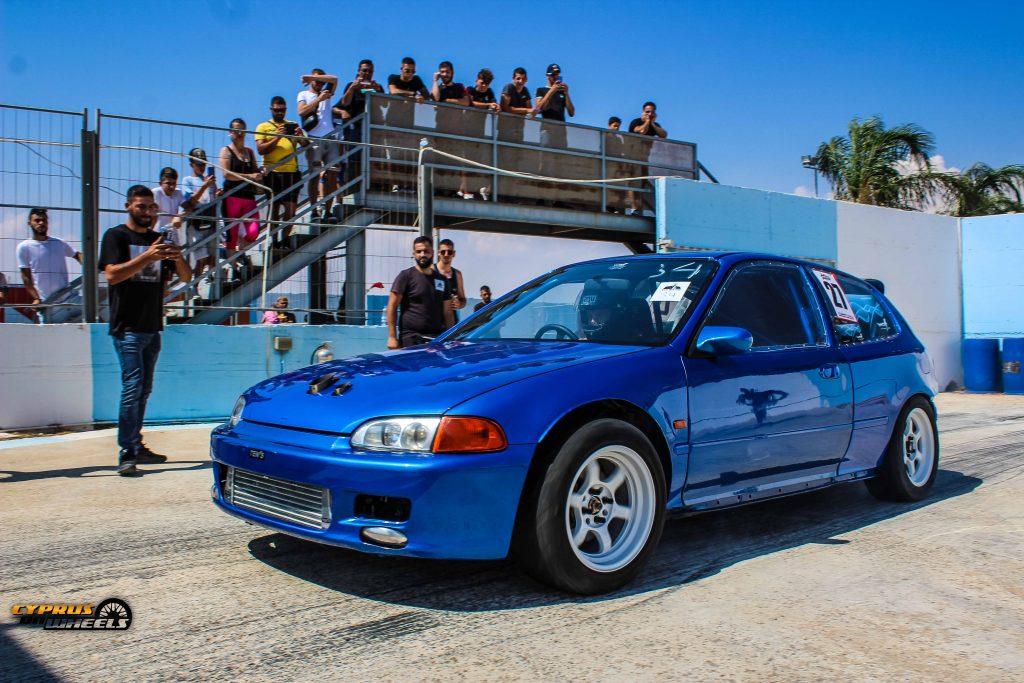 Honda turbo drag car cyprus