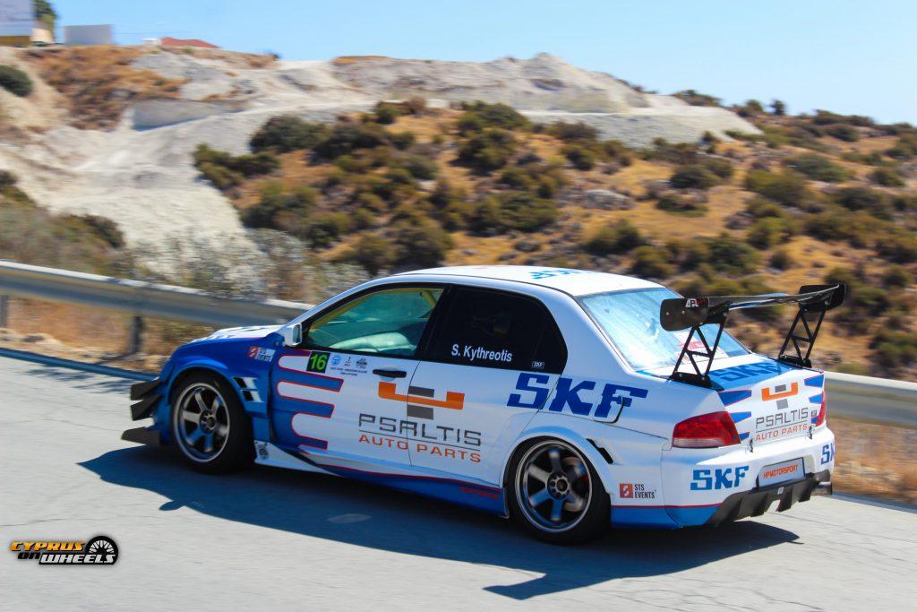 EVO 8 hillclimb race car